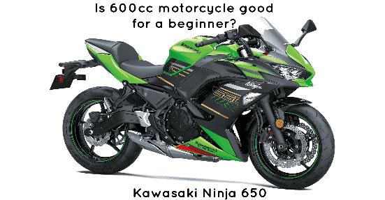 Kawasaki 650 sports motorcycle