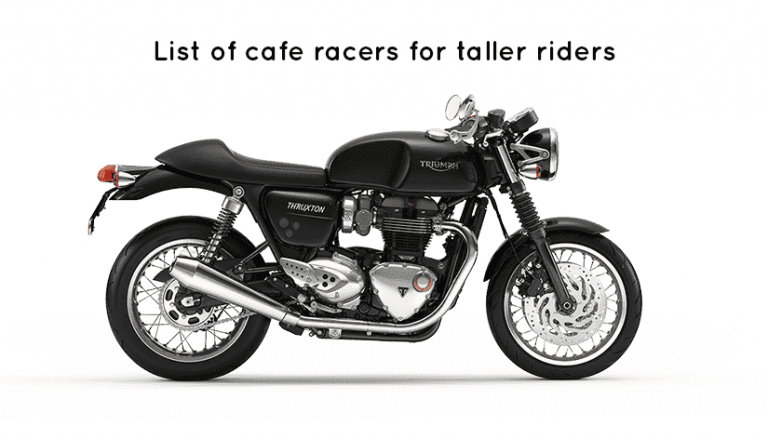 Norton Cafe racer for tall