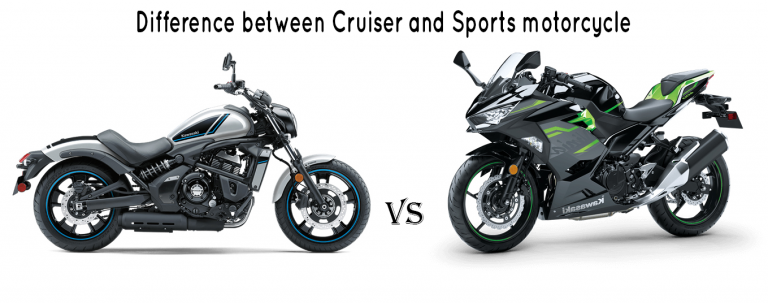 Difference between Cruiser and Sport motorcycle