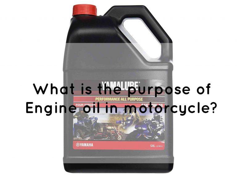 Yamaha motorcycle engine oil