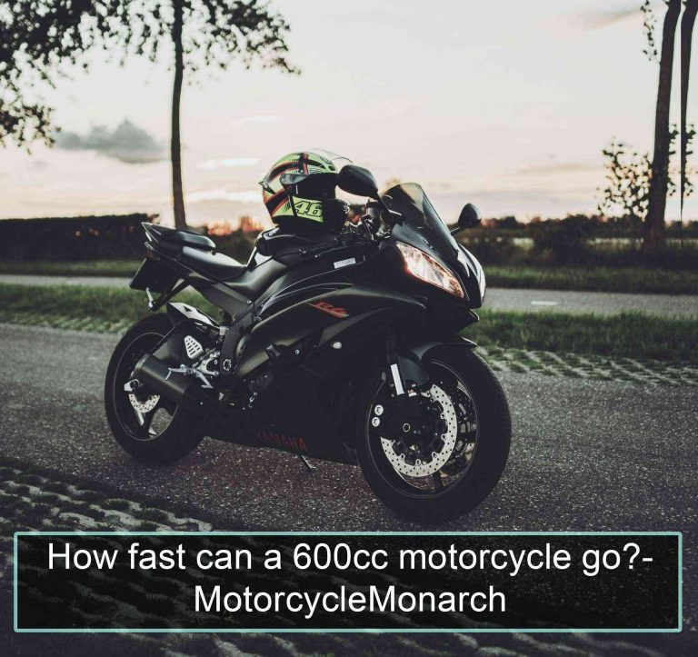How fast can a 600cc motorcycle go?