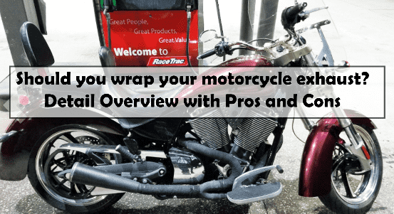Should you wrap your motorcycle exhaust