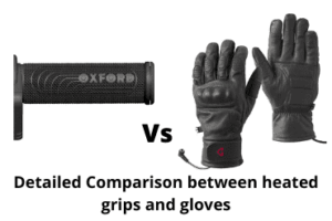 Detailed comparison between heated grips and gloves