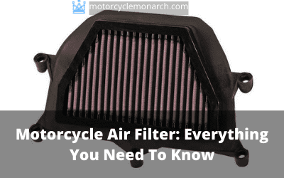 Motorcycle Air filter: Everything you need to know